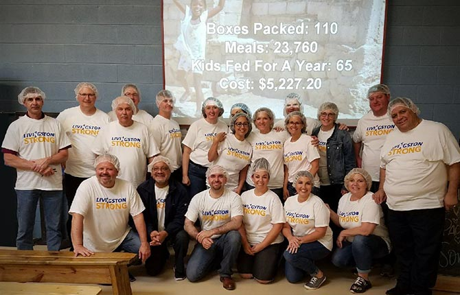 Itasca Feed My Starving Children CSR event